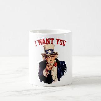 Uncle Sam, önskar jag dig Kaffemugg