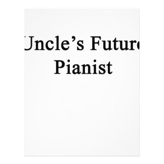 Uncles Framtid Pianist Brevhuvud