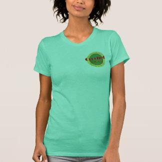 Uncut damT-tröja för virkning T-shirts