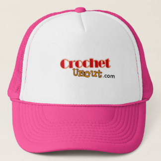 Uncut hatt för virkning truckerkeps