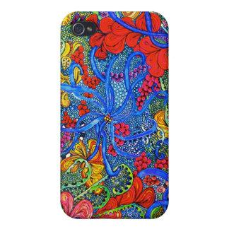 Under den havsSoodle iPhonen 4 täcka iPhone 4 Fodral
