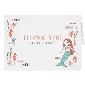 Under korten för havssjöjungfrutack OBS kort