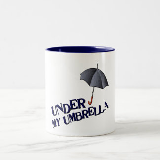 Under min Paraply-Mugg Två-Tonad Mugg