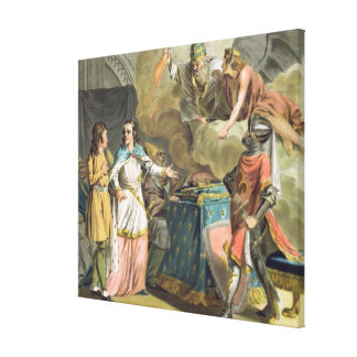 Under Philippe le Bel (1268-1312) det statligt av  Canvastryck