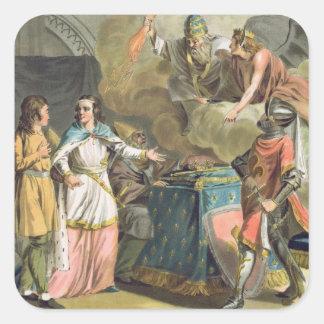 Under Philippe le Bel (1268-1312) det statligt av Fyrkantigt Klistermärke