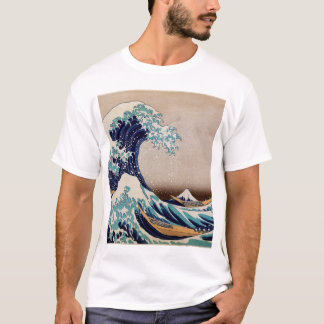 Under underbaren vinka av Kanagawa Tee Shirt