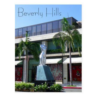Underbar Beverly Hills vykort! Vykort