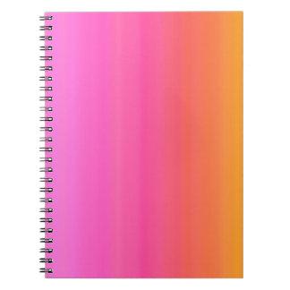 Underbar daganteckningsbok anteckningsbok med spiral