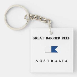Underbar flagga för dyk för barriärrevAustralien