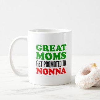 Underbar mammor som främjas till den Nonna muggen Kaffemugg