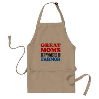 Underbar mammor som främjas till Farmor Förkläde