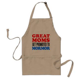 Underbar mammor som främjas till Mormor Förkläde