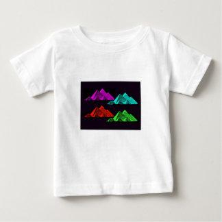 Underbar pyramid av Giza Collage T Shirt
