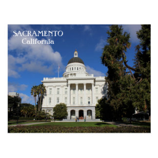 Underbar Sacramento vykort! Vykort