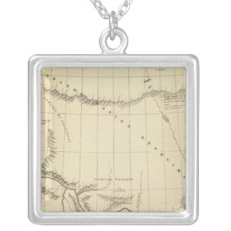 Underbar slav- sjö 15 silverpläterat halsband