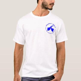 Underbar T-tröja för ljud - blått Tshirts