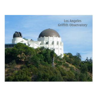Underbar vykort för LAGriffith observatorium!