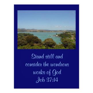 Underbara arbeten [av guden] - jobb37:14 reklamblad