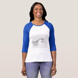 Underbara filippinska örnkvinna Bella+Kanfas T-shirt