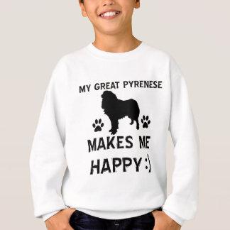 Underbara pyrenees hund design tee shirts
