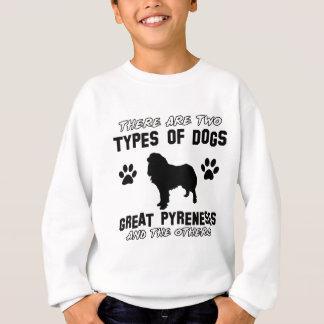 underbara pyrenese hund design tee shirts