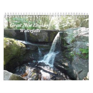 Underbara vattenfall kalender