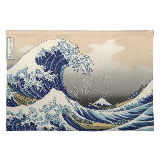 Underbaren vinkar av Kanagawa Bordstablett