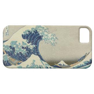 Underbaren vinkar av Kanagawa iPhone 5 Case-Mate Skydd
