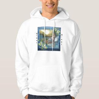 underbart olje- original sweatshirt