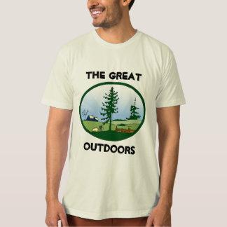 Underbart utomhus t shirt