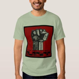 underjordisk elektrisk camoutslagsplats för lag t shirts