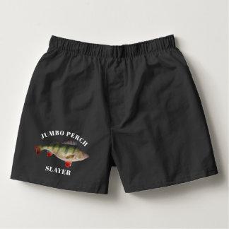 Underkläder för fiske för jumboPerch rolig Boxers