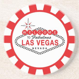 Underlägg för Las Vegas pokerchip