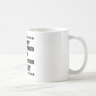 Underskatta aldrig den Beauceron pappan Kaffemugg