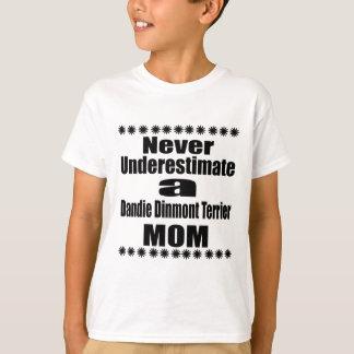 Underskatta aldrig den Dandie Dinmont T-shirts