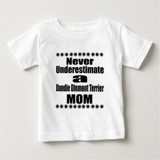 Underskatta aldrig den Dandie Dinmont Tee Shirts