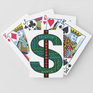 Undersök dina personliga $-motivationar, som du spelkort