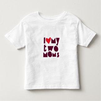 Understöd skjorta för LGBT för barn med två mammor Tee Shirt