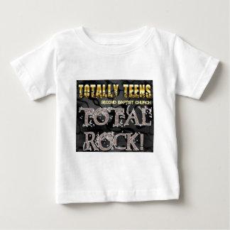 Understödja baptistiskt tonåring totalt märkt tee shirt