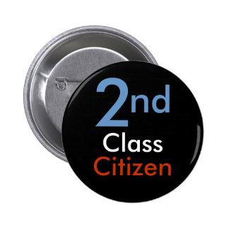 Understödja klassificerar medborgaren knäppas standard knapp rund 5.7 cm