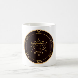 Understödja pentaclen av Jupiter Kaffemugg
