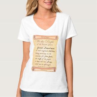 Understödja rättelsen t-shirts