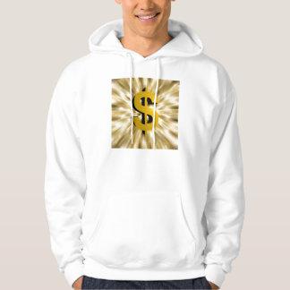 Underteckna av pengar sweatshirt med luva