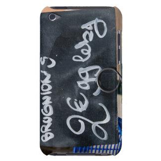 Underteckna för pris av grönsaker i Euros iPod Touch Överdrag