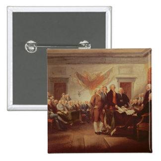Underteckna förklaringen av självständighet, 4th knapp