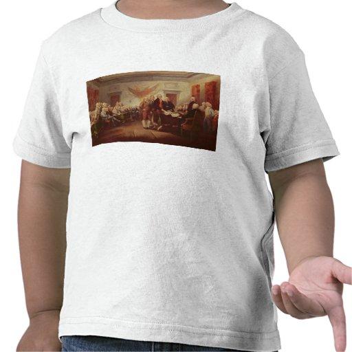 Underteckna förklaringen av självständighet, 4th t-shirt