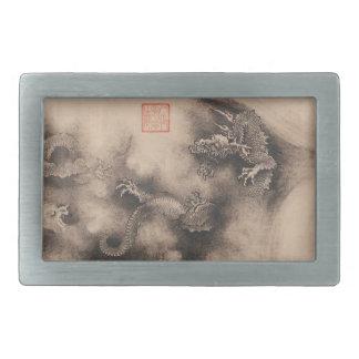 Undertecknar kinesisk Zodiac för drakeåret bältet
