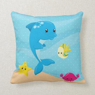 Undervattens- djur kudde