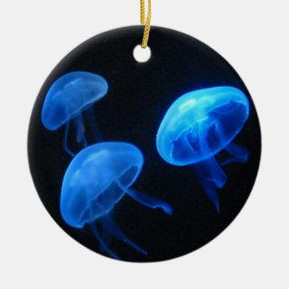 Undervattens- fotografi för manetprydnad | julgransprydnad keramik