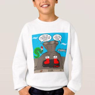 Undervattens- jul tee shirt